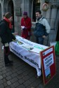 Information stall on Shop Street promoting the Visioning Sessions